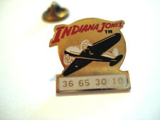 PINS RARE PLANES AEREI FLUGZEUGE AVIONS INDIANNA JONES tm PERSONNAGE CINEMA TV