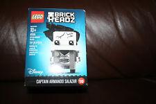 Lego Brick Headz #10 Disney CAPTAIN ARMANDO SALAZAR 41594 - New in Sealed Box