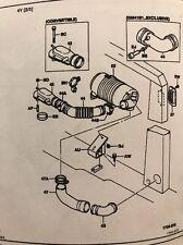 17831-22800-71 Inlet Hose Toyota Forklift 42-6FGCU25 Reference 1703-43