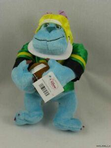 "New Disney Store Monsters Inc Football Sulley Mini Bean Bag 8"" Plush Toy Doll"