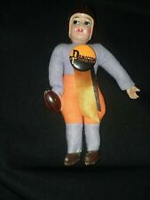 "Princeton University - Celluloid Doll with / 1 3/4 "" vintage pin - Near Mint"