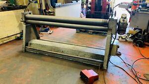 Powered Bending Rollers, Morgan & Rushworth, 2025 x 125 x 2mm, forward & reverse