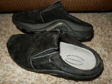 6/36 MERRELL Jungle Slide Suede Leather Slip On Mules Shoes Women's