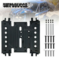 Treal Element Enduro RC Aluminum Skid Plate Gearbox Mount Gunmetal