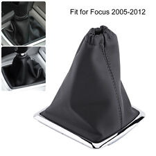 Car Vehicle Gear Shift Lever Stick Gaiter Boot Cover For Ford Focus 2005-2012