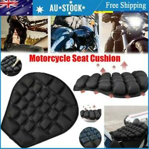 Motorcycle Seat Cushion Cover 3D Shock Absorb Inflatable Gel Air Mat Motorbike