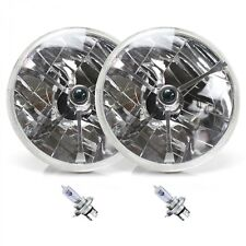 Tri-Bar 7 Inch Halogen Lens Assembly with H4 bulb Pair