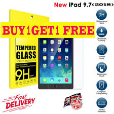 Premium Tempered Glass Genuine Screen Protector For Apple iPad 9.7-inch  (2018)