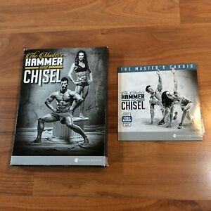 Beachbody The Master's Hammer and Chisel DVD Set + The Master's Cardio - 7 DVDs