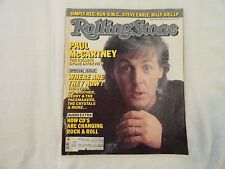 Rolling Stone Magazine Paul McCartney Interview - The Byrds September 11th,1986