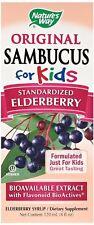 Nature's Way Sambucus for Kids Elderberry Syrup, 4 oz