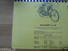 M0600 MAGNEET---TECHNICAL INFO---A50-MODELYEAR ABOUT-->1952