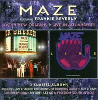 MAZE - LIVE IN NEW ORLEANS/LIVE IN LOS ANGELES [DELUXE EDITION] * NEW CD