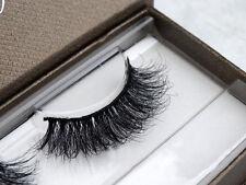 New 1 Pair Thick Real 3D Strip Mink Fur Long False Eyelash Makeup Fashion Lashes