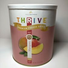 Thrive Premium Freeze Dried Mangoes, Large #10 Can, 47 Servings