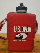 Vintage Wilson Us Open Official Ball Water Bottle. 80s Clean And Cool