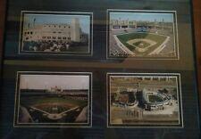 Stadium Comiskey Park Chicago White Sox 4 Framed Photo Picture Set