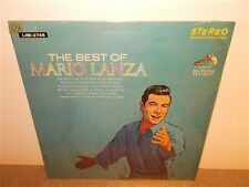 Mario Lanza . The Best of Mario Lanza . Canadian Stereo . LP