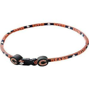 """Chicago Bears Officially Licensed NFL Football Titanium Sport Necklace 18"""""""