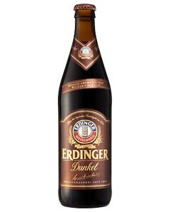Erdinger Dunkel Weißbier 500mL Beer case of 12