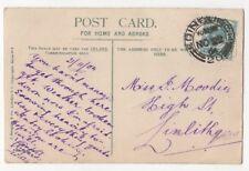 Edinburgh [20] 22 Nov 1904 Scottish Postmark 823b