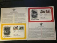 1993 US First Day Cover 29 Cent Sports Horses Set May 1 PCS
