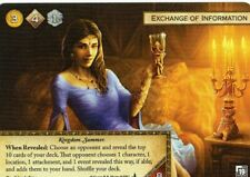Exchange of Information Game of Thrones Card aGoT FFG Promo LCG