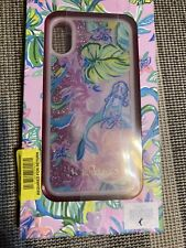 Lilly Pulitzer iPhone X/XS Glitter Case (Featured in a Mermaid in the Shade)
