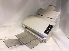FUJITSU fi-4120C2 PASS THROUGH SCANNER Clean & Complete With Both Trays