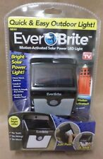Ever Brite Light LED Motion Activated Solar Power Outdoor As Seen on TV New