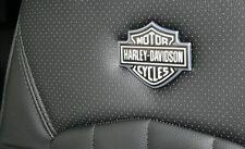 "Harley Davidson Emblems 2"" x 1.5"" F-150 F-250 Headrest Push Pin Ford Truck Seat"