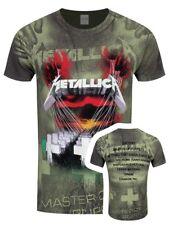Metallica Master Of Puppets - Allover T-shirt Charcoal XL