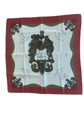 Hermes Silk Scarf Moliere French 90 Comedie Francaise