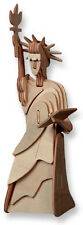 "3-D Wooden Puzzle - Small Statue Of Liberty Gift Item ""Brand New"""