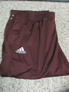 Central Michigan Chippewas Basketball Adidas Warm Up Pants 3XL Game Worn Issued