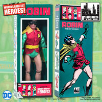 DC Comics Removable Mask Robin 8 inch Action Figure in Retro Style Retro Box