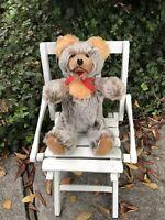 "Vintage  12 1/2"" Fechter Jointed Teddy Bear  -  RARE"