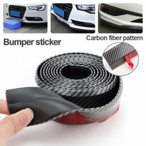 2.5m Rubber Protector Car Front Bumper Lip Skirt Strip Spoiler Side Splitter