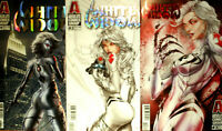 WHITE WIDOW 1 2 3  ( Jamie Tyndall Main covers Hot )Absolute comics SOLD OUT NM+
