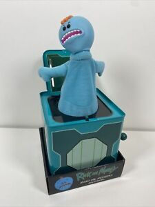 Rick and Morty Angry Mr. Meeseeks Jack-in-the-Box Figure Entertainment Earth