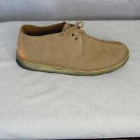 Clarks Originals Desert Trek Tan Suede Chukka Ankle Boots Men's US 10 UK 9 EU 43