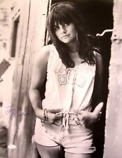 Linda Ronstadt autographed signed autograph 16x20 inch B&W poster size photo JSA