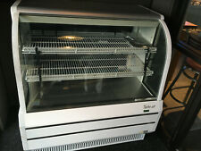 Turbo Air 48 Curved Glass Refrigerated Bakery Display Case White Tcgb 48 W