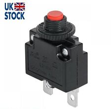 16A MR1 Manual Reset Push Button Switch 125/250VAC 32VDC Thermal Circuit Breaker