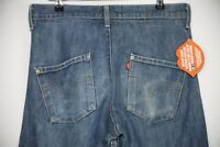 Mens LEVIS Jeans ENGINEERED TWISTED LOOSE Fit Buttons RAW DISTRESSED W30 L32 P44