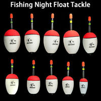 10-100g Fishing Float EVA Luminous Floats Fish Bait for Sea Fishing Carp Tackle