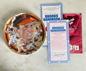 The Best of Basebal Plate Collection, Brooks Robinson