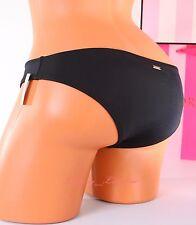 VICTORIA'S SECRET VS Swim Low-Rise Sexy Cheeky Bikini Bottom M Medium Black 34R8