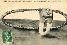PARIS Musée de Cluny LOT 3 Cartes Ceinture de Chasteté Métal ferronnerie