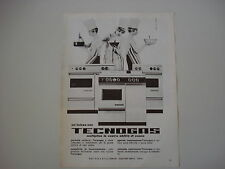 advertising Pubblicità 1966 CUCINE TECNOGAS